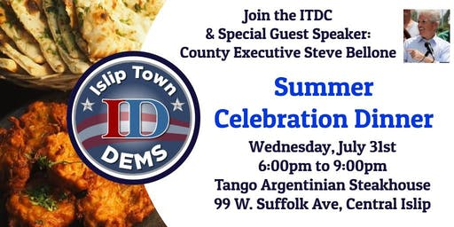 Summer Celebration w/County Executive Steve Bellone