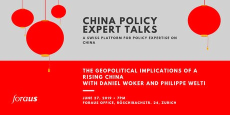 foraus China Policy Expert Talk with Daniel Woker and Philippe Welti Tickets