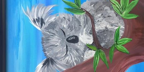 Paint&Sip KeKe The Koala 6/27 41&Main tickets