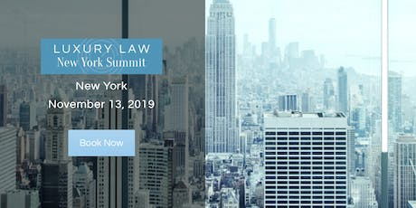 Luxury Law New York Summit tickets