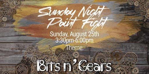 Sunday Night Paint Fight