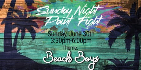 Sunday Night Paint Fight tickets