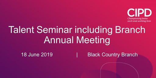 Talent Seminar including Branch Annual Meeting