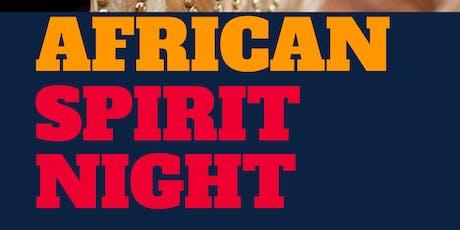 African Spirit Night *Mandingo Experience* tickets