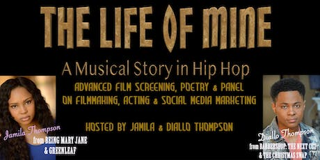 THE LIFE OF MINE Filmmakers Seminar, Poetry & Film Special Screening  tickets