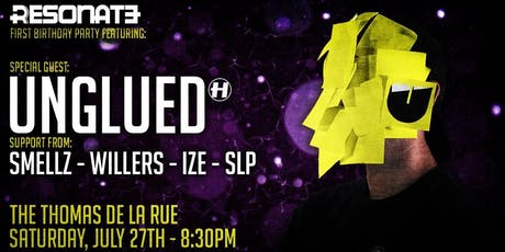 Resonate's First Birthday With Unglued (Hospital Records) tickets