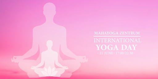 5th International Yoga Day at MahaYoga Zentrum