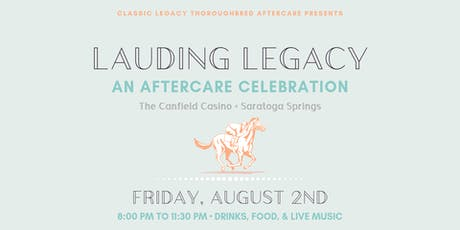 Lauding Legacy: An Aftercare Celebration tickets