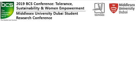 Middlesex  University Dubai and The Chartered Institute of IT Student Research Conference tickets
