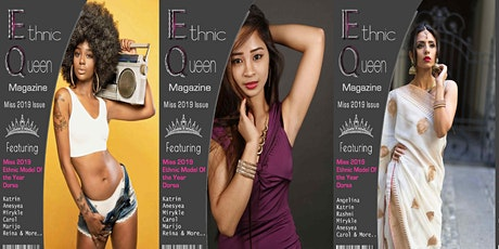 Miss 2020 Ethnic Queen Magazine Free Print Modeling Contest tickets