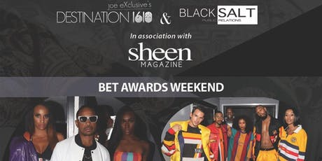 "BET AWARDS WEEKEND ""LuxeLife Fashion show Day party & Lounge"" tickets"