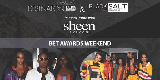 "BET AWARDS WEEKEND ""LuxeLife Fashion show Day party & Lounge"""
