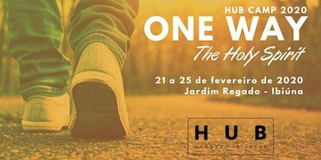 HUB CAMP 2020 - ONE WAY - The Holy Spirit ingressos