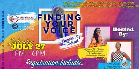 """Finding Your Voice"" Singers Day Retreat tickets"