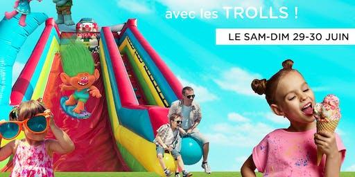 LE PARTY D'ÉTÉ PI-O (avec les trolls)