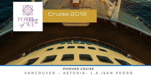 POWHer Cruise: Sept 25-29, 2019