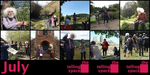 Telling Space Family Storytelling Club: Montgomery Castle Storywalk