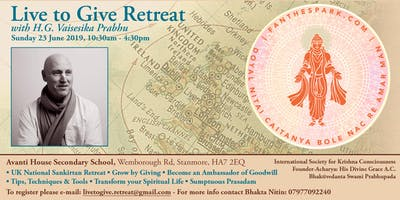 Live To Give Retreat