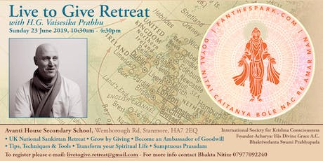 Live To Give Retreat tickets