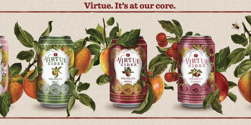 Goose Island & Virtue Cider Tasting with Travis Sessions