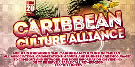 Caribbean Culture Alliance tickets
