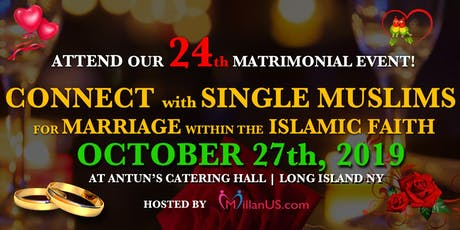 MillanUS.com Hosts The 24th Muslim Matrimonial Event, LI NY tickets