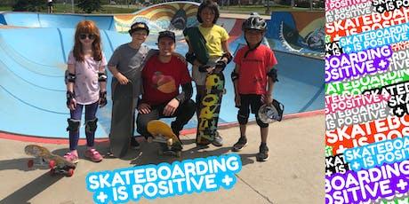 Skateboarding is Positive: Beginner Skateboarding Lessons (Group) tickets