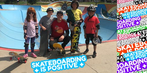Skateboarding is Positive: Beginner Skateboarding Lessons (Group)