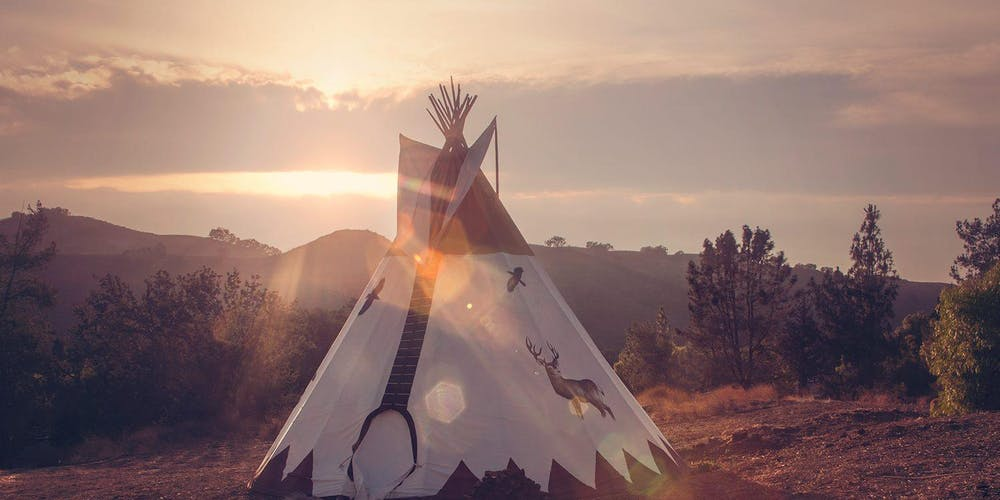 LOVE INFUSION :: GUIDED MEDITATION + SOUND HEALING IN A TIPI