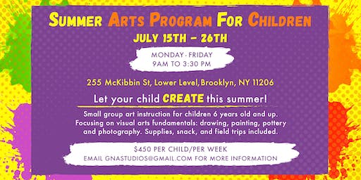 SUMMER ARTS PROGRAM FOR YOUTH