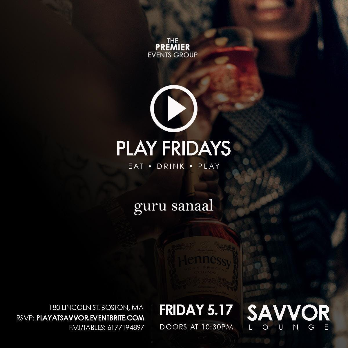 PLAY Fridays - 5th Of July