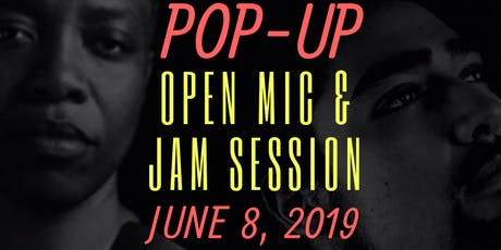 POP UP Open Mic   Jam Sessions tickets
