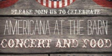 Americana at the Barn tickets