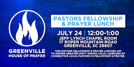 Pastors Fellowship & Prayer Luncheon tickets