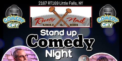 Rusty Nail Grill Comedy CNY Night