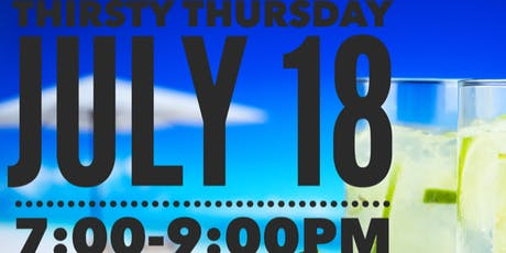 Thirsty Thursday tickets