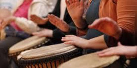Women's Wellness Drumming & Frame Drum Class - 6 sessions ending 8/21/2019 tickets
