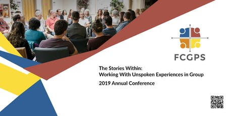2019 Conference - The Stories Within: Working with Unspoken Experiences in Group tickets