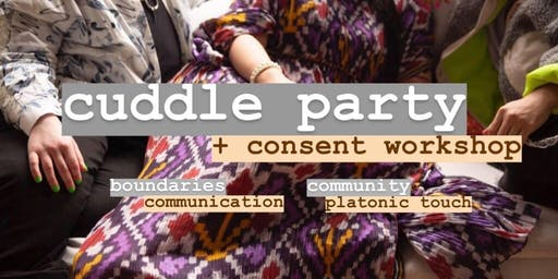 Queer Cuddle Party + Consent Workshop