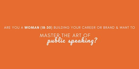 Master the art of Public Speaking tickets