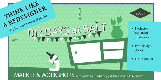 Think Like A Redesigner Workshop @ DIY Days at SALT