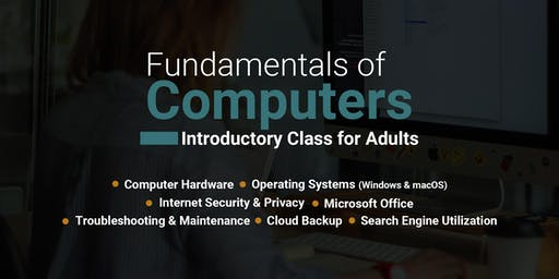 Fundamentals of Computers for Adults