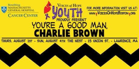 VOH Youth Program Presents: You're a Good Man, Charlie Brown! tickets