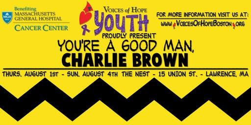 VOH Youth Program Presents: You're a Good Man, Charlie Brown!
