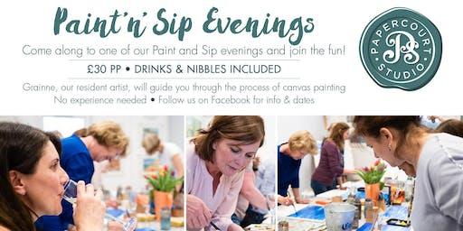 Paint & Sip Evening