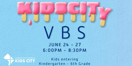 Kids City VBS tickets