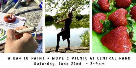 Paint, Move & Picnic @ Central Park - An Afternoon To Relax & Explore tickets