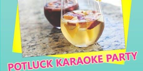 Potluck and Karaoke party tickets