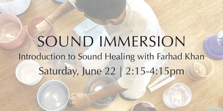Sound Immersion — Introduction to Sound Healing tickets
