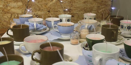 Poured Candles Workshop at Holmfirth Tech